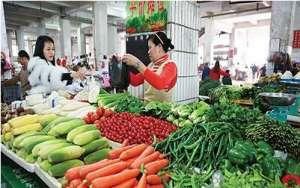 我国蔬菜供应量同彼增多导致价格不断走低